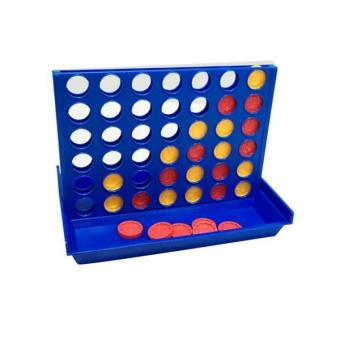 Harga BolehDeals Four In A Row Connect Four Line Connecting Board Game Kids Interactive Toy - intl