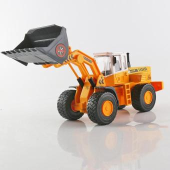 Harga Large bulldozer forklift loader model kaidi wei alloy engineering car artificial cars children toy car