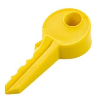 Novelty Stopper Silicone Rubber key Decor Door Stop Wedge Protection Baby Yellow