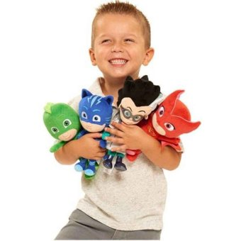 Harga 4Pcs/Set 20Cm Plush Pj Cartoon Mask Hero Cat Boy &Amp; Gekko &Amp;Owlette Movie Figure Toys - intl