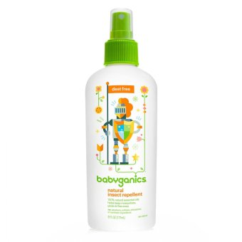 Harga Babyganics Natural Insect Repellent (177ml)