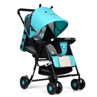 Harga Seebaby QQ3 Lightweight Stroller (Blue Little Bee)