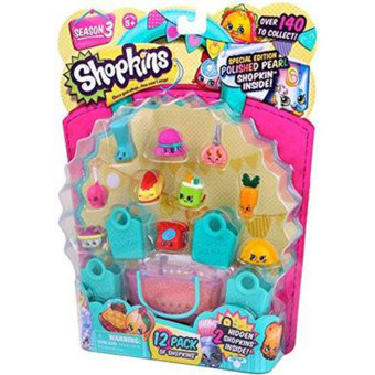 Harga SHOPKINS Season 3 Ultra Rare Special Limited Edition Pack Jewels Bags Decor