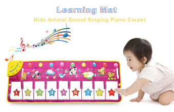 Harga Kids Animal Piano Carpet Learning Educational Musical Play Mat Toy