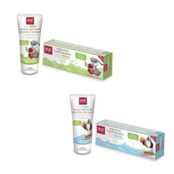 SPLAT Natural Children Toothpaste (2-6 yrs old) ONLY XYLITOL NO FLUORIDE - 3