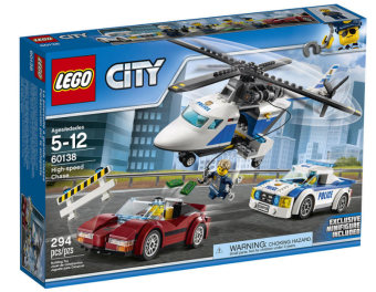 Harga LEGO 60138 City Police High-speed Chase