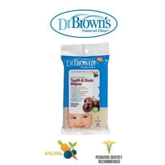 Harga Dr Brown's Tooth and Gum Wipes (30pcs)