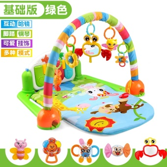 Harga Foot step on piano baby fitness frame is foot piano 0-1-year-old foot Deng Qin music toys 3-12 a month boy 6