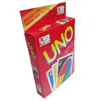 Harga Hecose Transparent Plastic Waterproof UNO Card Game Fun Family Party Playing Cards