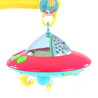 Baby Bed Bell Musical Mobile Crib Dreamful Bed Ring Hanging Rotate Bell - intl - 5