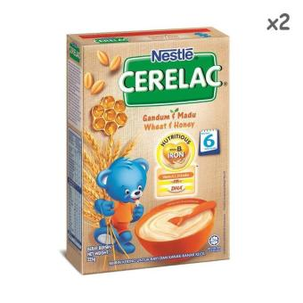 Harga Nestle Cerelac Wheat and Honey 225g X 2tins