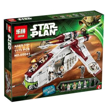 Harga LEPIN 05041 Republic Gunship Star Wars Building Block Set