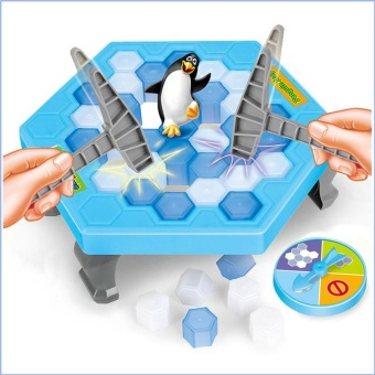 Penguin Ice Breaking Save The Penguin Family Toys Desktop Game Gifts - intl