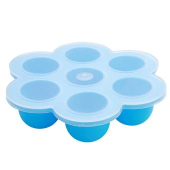 Harga LALANG Silicone Baby Food Storage Freezer Tray Container (Blue) - intl