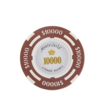 Harga BolehDeals MagiDeal 10000 Dollar Face Value Monte Carlo Poker Room Label Casino Chips - intl