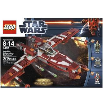 Harga LEGO Star Wars 9497 Republic Striker-class Starfighter - intl