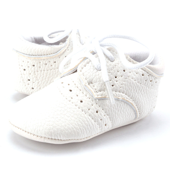 Harga Infant Soft Sole Shoes (White)