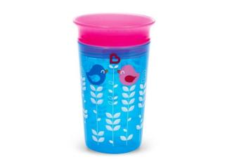 Harga Munchkin 9oz Deco 360 degrees Miracle Sippy Cup, Blue Bird