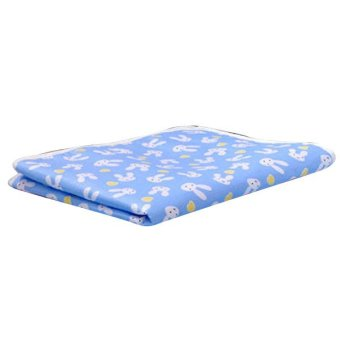 Harga Baby Changing Pad Cotton Printed Cover Toddlers Waterproof Urine Mat Blue S - intl