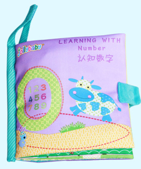Popular new baby touch tail animal three-dimensional cloth books tear rotten baby cloth book early childhood educational toys
