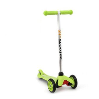 Harga CMAX Mini Kids Scooter with Flashing LED Wheels (Green)
