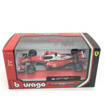 BBurago 1:43 F1 - Ferrari Racing SF16-H #7 Kimi Raikko die-cast model cars - intl - 5