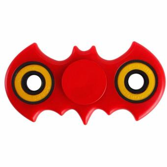 Harga Bat style anti-stress EDC toy Fidget Hand Spinner Toy Red - intl