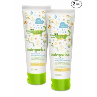 Harga Babyganics Eczema Care Skin Protectant Cream, 8 oz Tube (2 Pack)