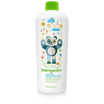 Harga Babyganics Hand Sanitizer refill bottle 473ml Fragrance Free