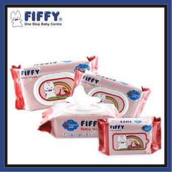 Harga FIFFY Baby Fragrance Free Wipes (80's x 3 + 30's)