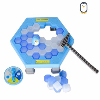 Harga Ice Breaking Save The Penguin Great Family Kids Fun Game - intl