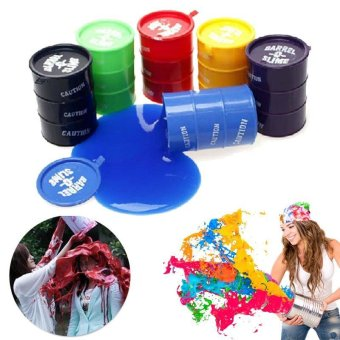 Harga Barrel O Slime Goo Silly Putty Kids Toys Prank Funny Christmas Halloween - intl