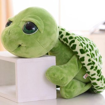 Harga The tortoise plush toy turtle turtle turtle eyes toy doll doll pillow to send girls birthday gift - intl