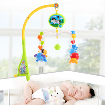Harga Baby Bed Bell Musical Mobile Crib a Dreamful Bed Ring Hanging Rotate Bell - intl
