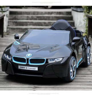 Harga BMW i8 Concept Electric Ride-On Car (Black)