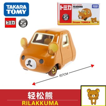 Harga Tomy alloy car models series EASILY bear RILAKKUMA bear 466420 boy toy