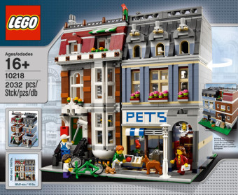 Harga LEGO 10218 Pet Shop