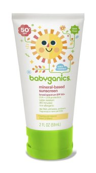 Harga Babyganics Mineral-based Sunscreen SPF 50+ 59ml