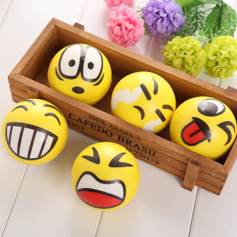 Harga Smiley Ball Smiley Stress Ball Smiley Squeeze Ball Anti Stress Reliever Toys