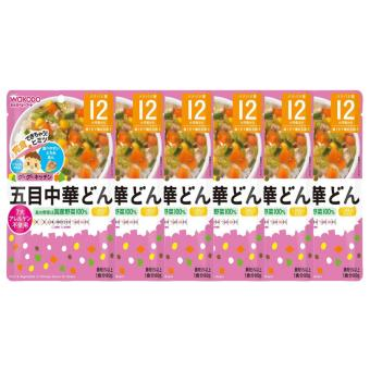 Harga Wakodo (Japan Imported) Baby Food Pork and Vegetable In Chinese Sauce for 12 mths (6 pack) - 64987244181824