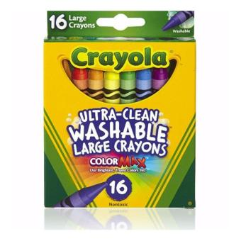 Harga Crayola; Ultra-Clean; Large Crayons; Art Tools;16 ct. Crayons; Bright, Bold Washable Colors