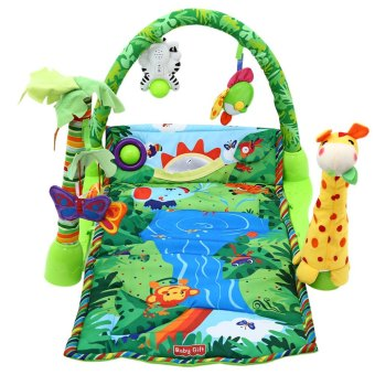Harga Baby Rainforest Music Soft Mat For Play Gym Activity