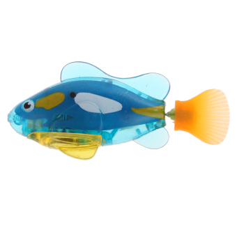Harga Activated Charger Powered Robo Fish Toy 4#