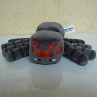 Harga GDS Minecraft Plush Toy Brinquedos Game Toys Cheapest Sale High Qualityplush Toys Cartoon Game Toys Spider 16Cm