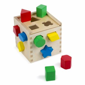 Harga Shape Sorting Cube Classic Toy