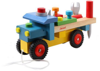 Harga Boys wooden assembling toy car