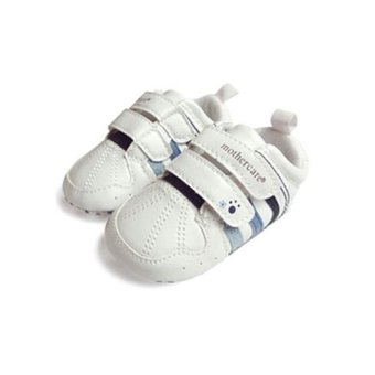 Harga Baby Boys Athletic Sneaker Pre-walkers (White)