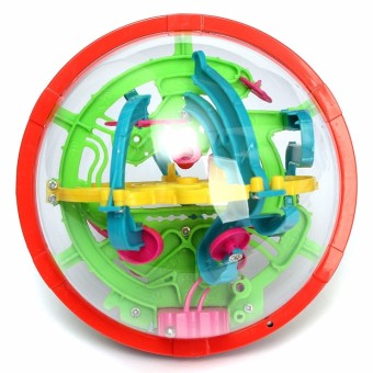 3D Magical Intellect Maze Ball Kids Amazing Balance Logic Ability Toys Learning & Educational IQ Trainer Game For Children - 2