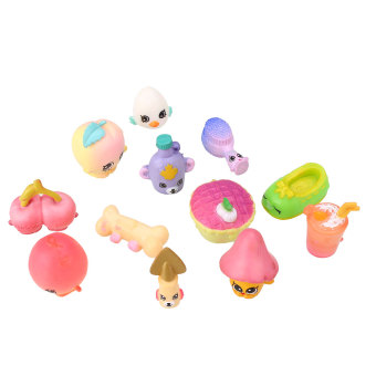 Harga 12Pcs/Set For SHOPKINS Season 1 Play House Supermarket Shopping Toy Gifts