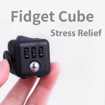 Harga Fidget Cube - Stress Relief Focus 6-side Cube to Reduce Pressure